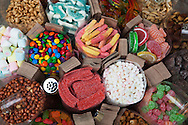 "Pinoy candy or fruit candies are common in the Philippines. People are enticed into eating them since most are based on fruits, so it is hoped that they are ""healthy"".  It is considered fun to snack on sweets and when they are so colorful it makes sense."