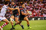 Kodi Nikorima. Auckland Warriors v St George Dragons. NRL Rugby League.Magic Round 2019 Suncorp Stadium, Brisbane, New Zealand. May 11, 2019. © Copyright photo: Patrick Hamilton / www.photosport.nz