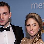 NLD/Amsterdam/20150119 - Premiere film Homies, Sarah Chronis en partner .......