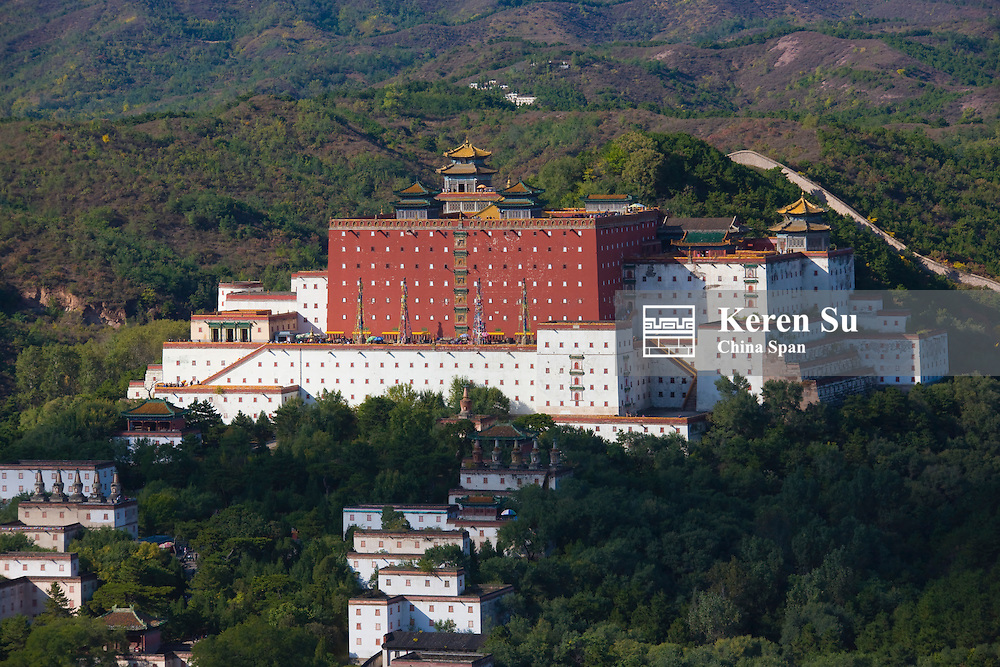 Putuozongsheng Temple, built after Potala Palace, Chengde Mountain Resort and its Outlying Temples (UNESCO World Heritage site), Hebei, China