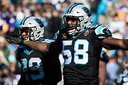 December 10, 2017: Minnesota vs Carolina. Thomas Davis,