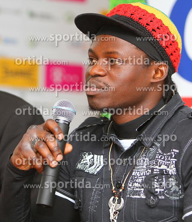 """12.10.2011, Zabrze, POL, WBA, Spodek Wojak Boxing Night, Pressekonferenz, im Bild ALEX BUNEMA // during press conference bevore Boxing Gala """"Spodek Wojak Boxing Night"""" in Zabrze, Poland on 12/10/2011. EXPA Pictures © 2011, PhotoCredit: EXPA/ Newspix/ Wojciech Karpinski +++++ ATTENTION - FOR AUSTRIA/(AUT), SLOVENIA/(SLO), SERBIA/(SRB), CROATIA/(CRO), SWISS/(SUI) and SWEDEN/(SWE) CLIENT ONLY +++++"""