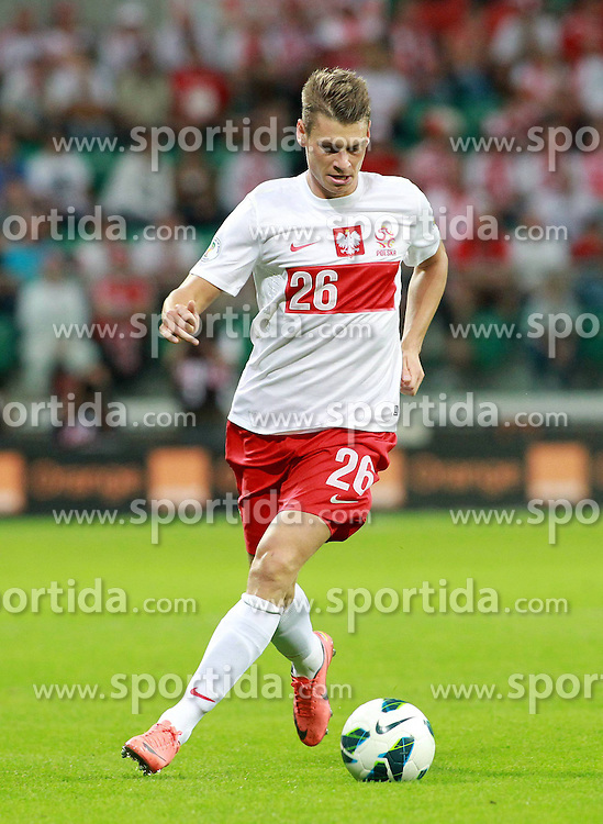 11.09.2012, Stadion Miejski, Breslau, POL, FIFA WM Qualifikation, Polen vs Moldawien, im Bild (L) LUKASZ PISZCZEK // during FIFA World Cup Qualifier Match between Poland and Moldova at the Miejski Stadium, Wroclaw, Poland on 2012/09/11. EXPA Pictures © 2012, PhotoCredit: EXPA/ Newspix/ Kamil Kraszewski..***** ATTENTION - for AUT, SLO, CRO, SRB, SUI and SWE only *****
