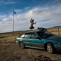 Pine Ridge South Dakota by Chris Maluszynski