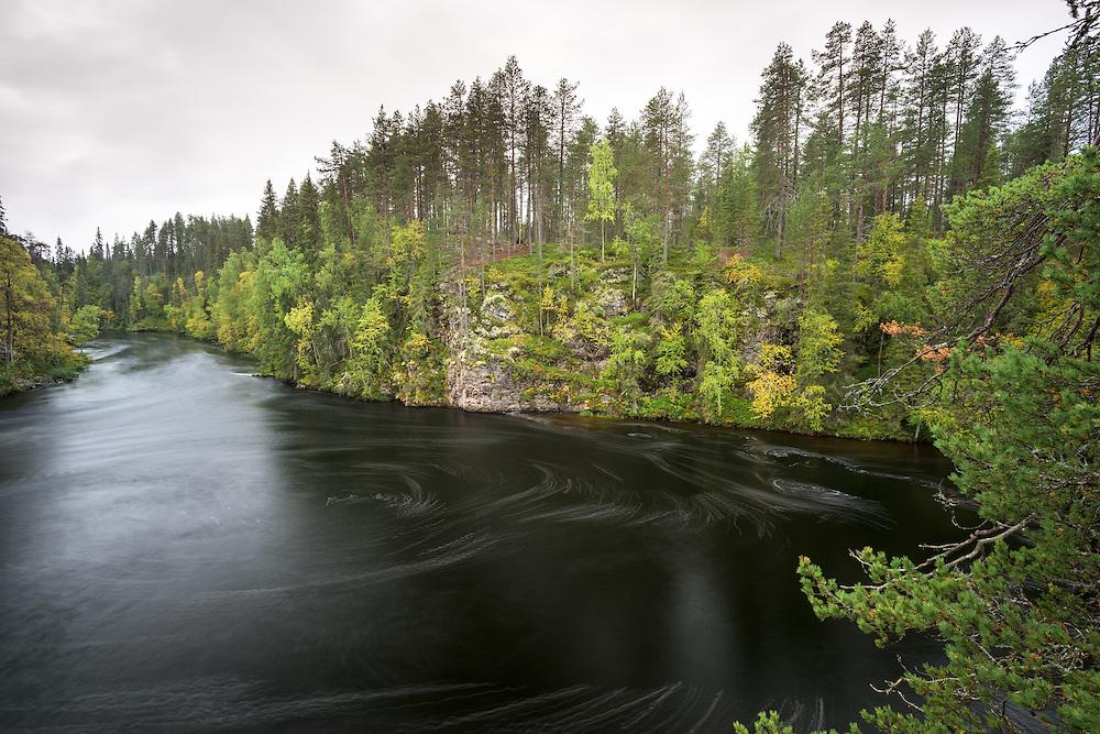 Myllykoski Pond im Oulanka Nationalpark