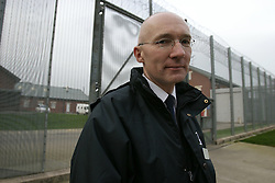 UK ENGLAND NOTTINGHAM 14DEC04 - Prison director Peter Wright at HMP Lowdham Grange in Nottinghamshire. This newly-built prison is entirely run and controlled by private company Premier-Serco on contract from the Home Office since 1998. The facility holds over 500 Category-B and C inmates with an minimum sentence of 4 years.<br /> <br /> jre/Photo by Jiri Rezac<br /> <br /> &copy; Jiri Rezac 2004<br /> <br /> Contact: +44 (0) 7050 110 417<br /> Mobile:  +44 (0) 7801 337 683<br /> Office:  +44 (0) 20 8968 9635<br /> <br /> Email:   jiri@jirirezac.com<br /> Web:     www.jirirezac.com<br /> <br /> &copy; All images Jiri Rezac 2004 - All rights reserved.
