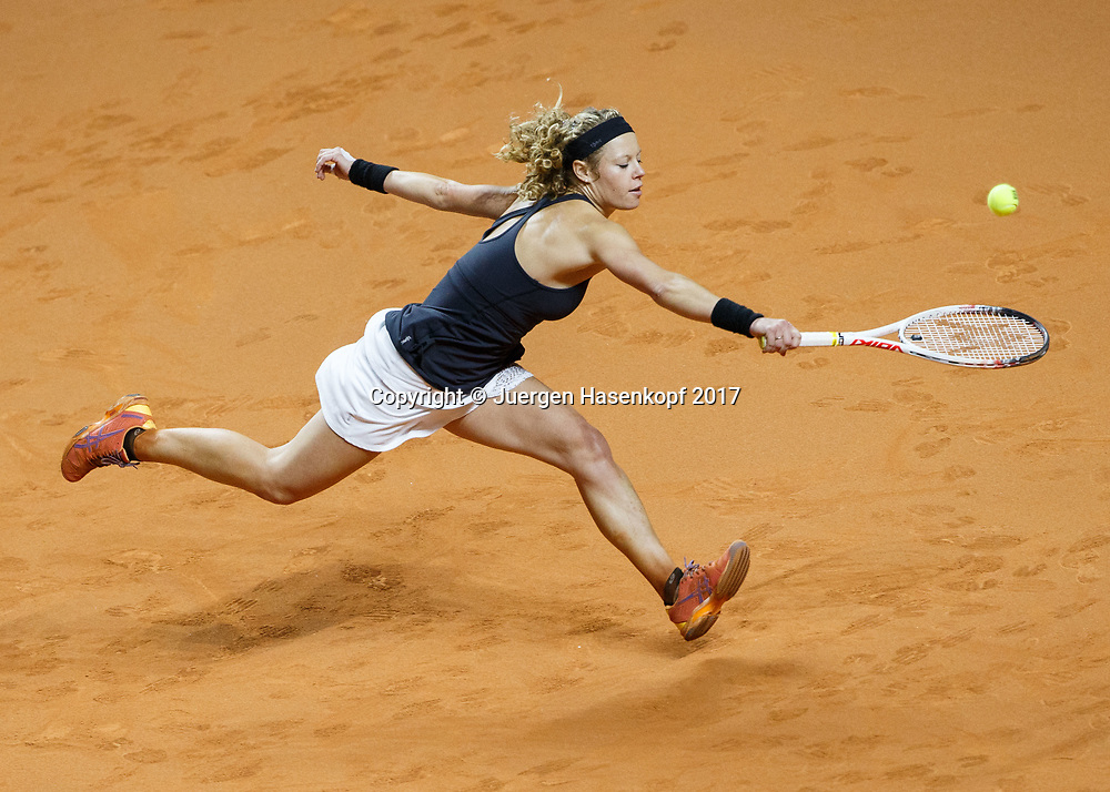 LAURA SIEGEMUND (GER)<br /> <br /> Tennis - Porsche  Tennis Grand Prix 2017 -  WTA -  Porsche-Arena - Stuttgart -  - Germany  - 27 April 2017.