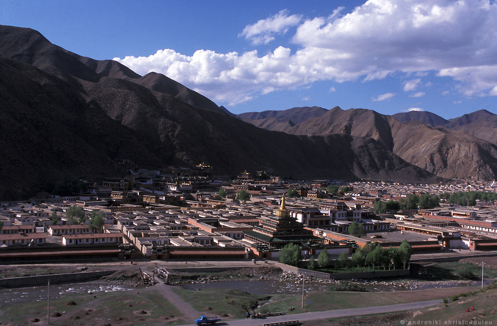 View of the monastery..LAMBRANG MONASTERY IN XIAHE - CHINA.copyright: Androniki Christodoulou