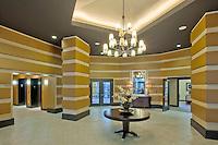 The Portico Lobby Interior.