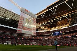 View inside Wembley Stadium  - Photo mandatory by-line: Alex James/JMP - Mobile: 07966 386802 - 22/03/2015 - SPORT - Football - London - Wembley Stadium - Bristol City v Walsall - Johnstone Paint Trophy Final