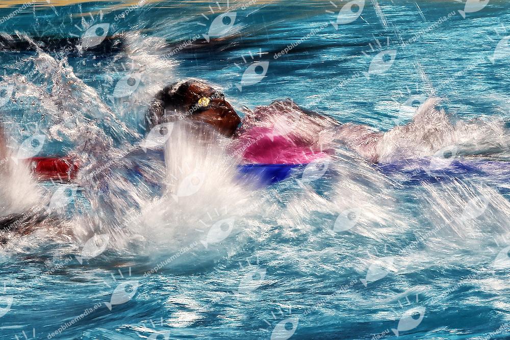 RAHEEM Kimiko FINA Women's 100m Backstroke <br /> Day11 03/08/2015 Kazan Arena <br /> Swimming Nuoto <br /> XVI FINA World Championships Aquatics  <br /> Kazan Tatarstan RUS <br /> Photo Andrea Staccioli/Deepbluemedia/Insidefoto