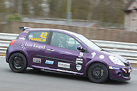 #42 Sarah FRANKLIN Sarah Franklin Racing with Westbourne Motors during Michelin Clio Cup Series as part of the BARC NW - Championship Raceday  at Oulton Park, Little Budworth, Cheshire, United Kingdom. March 19 2016. World Copyright Peter Taylor/PSP. Copy of publication required for printed pictures.  Every used picture is fee-liable. http://archive.petertaylor-photographic.co.uk