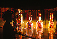 Traditional water puppet theatre in Hanoi, Vietnam