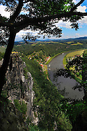 The Saxon region on the Elbe River in Germany.<br /> Photo by Dennis Brack