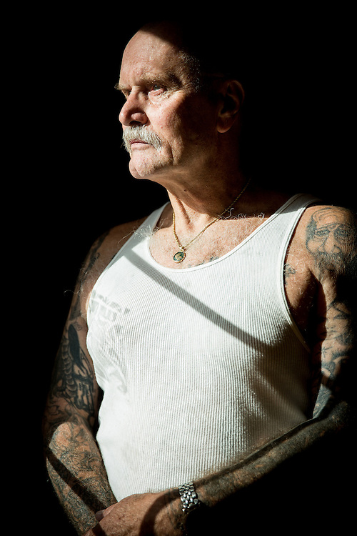 STOCKTON, CA - JULY 27, 2015:  Lonnie Rose poses for a portrait. Rose spent years in solitary confinement at Pelican Bay State Prison. CREDIT: Max Whittaker for The New York Times