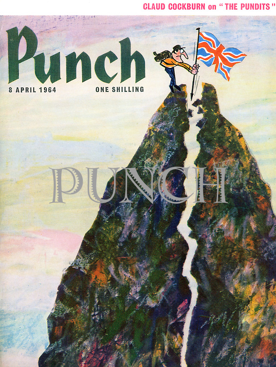 Punch (Front cover, 8 April 1964)