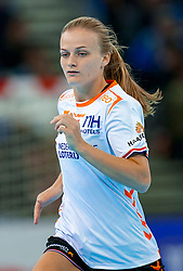 15-12-2019 JAP: Final Netherlands - Spain, Kumamoto<br /> The Netherlands beat Spain in the final and take historic gold in Park Dome at 24th IHF Women's Handball World Championship / Debbie Bont #7 of Netherlands