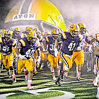 10.24.2014 Olmsted Falls at Avon Varsity Football