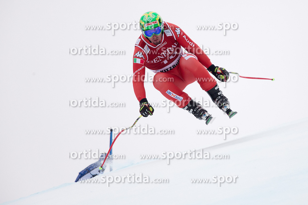 23.01.2015, Streif, Kitzbuehel, AUT, FIS Ski Weltcup, Supercombi Super G, Herren, im Bild Dominik Paris (ITA) // Dominik Paris of Italy in action during the men's Super Combined Super-G of Kitzbuehel FIS Ski Alpine World Cup at the Streif Course in Kitzbuehel, Austria on 2015/01/23. EXPA Pictures © 2015, PhotoCredit: EXPA/ Johann Groder