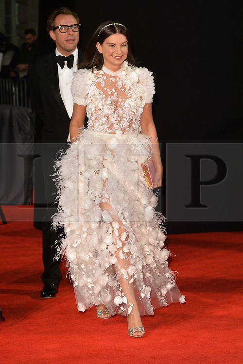 © Licensed to London News Pictures. 05/12/2016.  DAME NATALIE MASSENET arrives for The Fashion Awards 2016 celebrating the best of British and international fashion. London, UK. Photo credit: Ray Tang/LNP