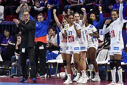 France coach Olivier Krumbholz during the Women's european handball chanmpionship preliminary round, Slovenia vs France. Nancy, Fance -02/12/2018//POLEMILE_01POL20181202NAN021/Credit:POL EMILE / SIPA/SIPA/1812021731