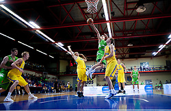 Klemen Prepelic of Slovenia during basketball match between National teams of Sweden and Slovenia in First Round of U20 Men European Championship Slovenia 2012, on July 13, 2012 in Domzale, Slovenia. (Photo by Vid Ponikvar / Sportida.com)