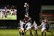 Edinburgh forwards look strong during the Guinness Pro 14 2017_18 match between Edinburgh Rugby and Southern Kings at Myreside Stadium, Edinburgh, Scotland on 5 January 2018. Photo by Kevin Murray.