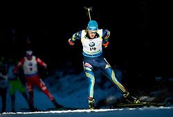 LINDSTROEM Fredrik (SWE) competes during Men 15 km Mass Start at day 4 of IBU Biathlon World Cup 2014/2015 Pokljuka, on December 21, 2014 in Rudno polje, Pokljuka, Slovenia. Photo by Vid Ponikvar / Sportida