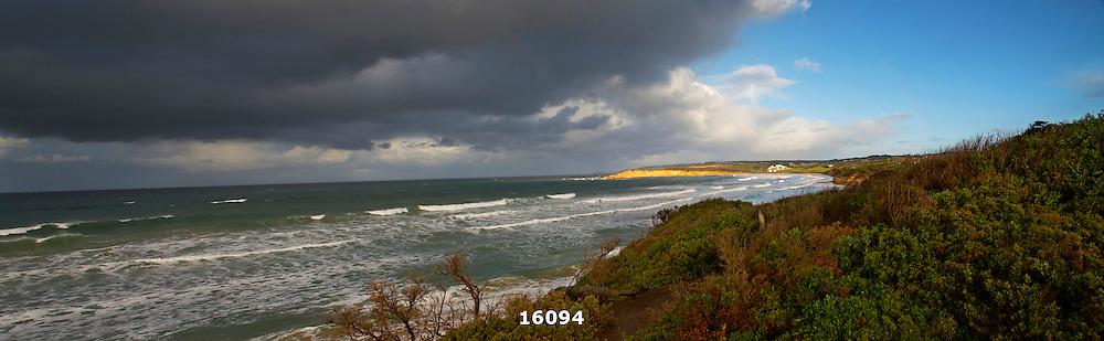 storm approaching Torquay Surf Beach