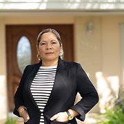 OCTOBER 25, 2018--KENDALL, FLORIDA<br /> Manuela Ramirez, 46,  a Nicaraguan activist, in her Kendall home. <br /> (PHOTO BY ANGELVALENTIN/FREELANCE)