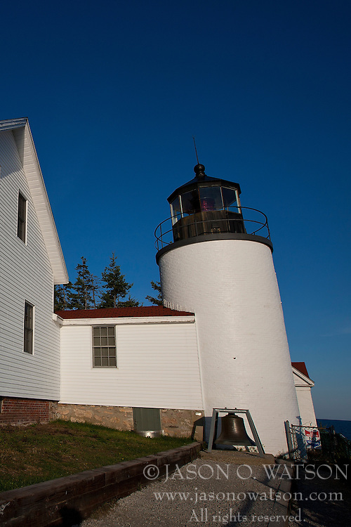 Bass Harbor Head Lighthouse, Acadia National Park, Maine, United States of America