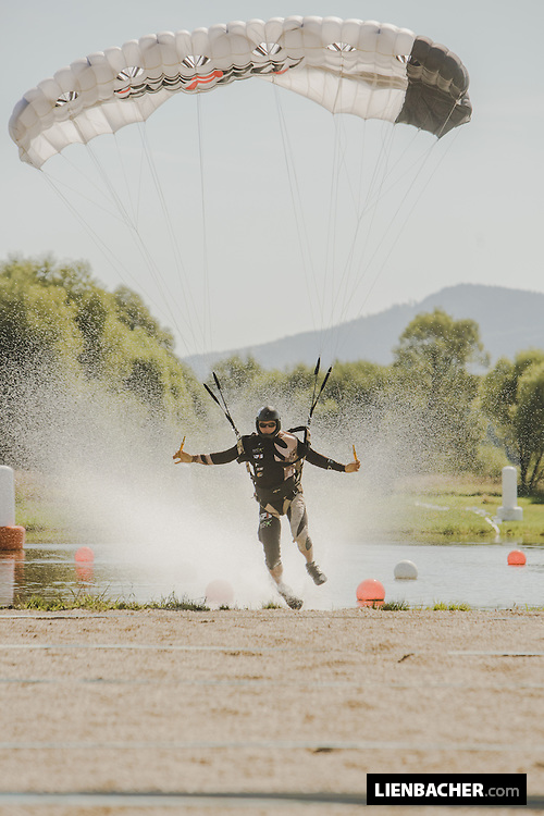 Pink Open Canopy Piloting parachuting competition in Klatovy CZ at Skydive Pink Klatovy