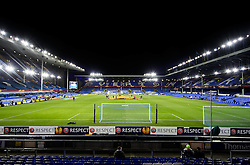 A general view of Goodison Park ahead of the UEFA Europa League tie between Everton and Young Boys - Photo mandatory by-line: Matt McNulty/JMP - Mobile: 07966 386802 - 26/02/2015 - SPORT - Football - Liverpool - Goodison Park - Everton v Young Boys - UEFA EUROPA LEAGUE ROUND OF 32 SECOND LEG