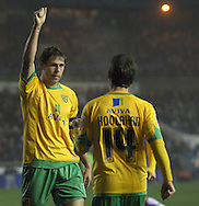 Carlisle - Saturday November 28th, 2009: Grant Holt of Norwich City celebrates his goal during the FA Cup second round match at Brunton Park, Carlisle. (Pic by Andrew Stunell/Focus Images)..