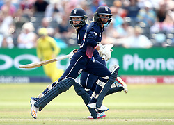 Danielle Wyatt of England and Tammy Beaumont of England Women take a run - Mandatory by-line: Robbie Stephenson/JMP - 09/07/2017 - CRICKET - Bristol County Ground - Bristol, United Kingdom - England v Australia - ICC Women's World Cup match 19