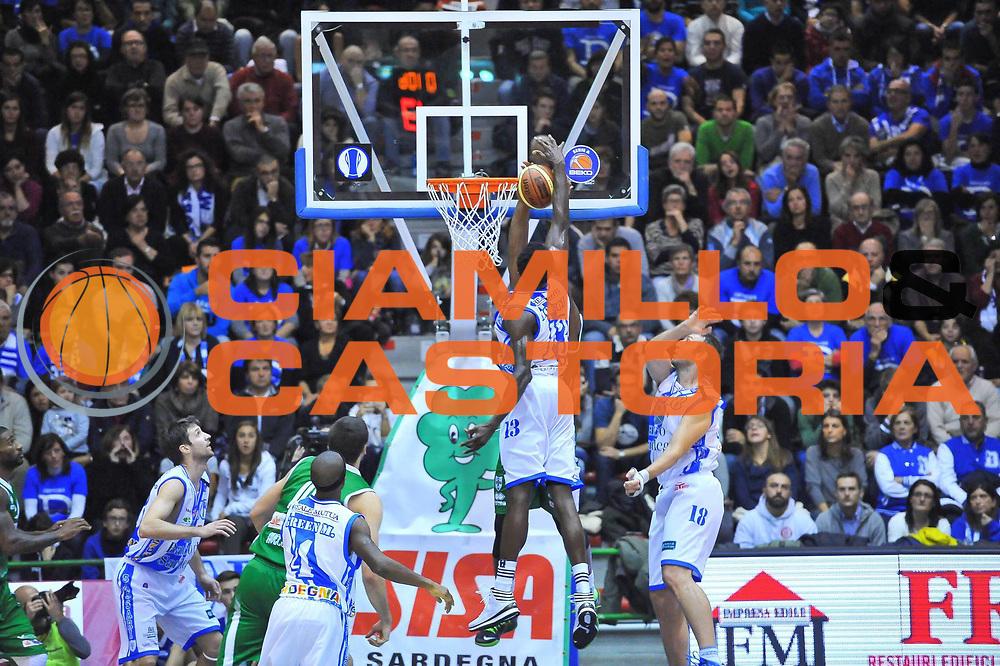 DESCRIZIONE : Campionato 2013/14 Dinamo Banco di Sardegna Sassari - Sidigas Scandone Avellino<br /> GIOCATORE : Will Thomas Linton Johnson<br /> CATEGORIA : Schiacciata Stoppata<br /> SQUADRA : Dinamo Banco di Sardegna Sassari<br /> EVENTO : LegaBasket Serie A Beko 2013/2014<br /> GARA : Dinamo Banco di Sardegna Sassari - Sidigas Scandone Avellino<br /> DATA : 24/11/2013<br /> SPORT : Pallacanestro <br /> AUTORE : Agenzia Ciamillo-Castoria / Luigi Canu<br /> Galleria : LegaBasket Serie A Beko 2013/2014<br /> Fotonotizia : Campionato 2013/14 Dinamo Banco di Sardegna Sassari - Sidigas Scandone Avellino<br /> Predefinita :