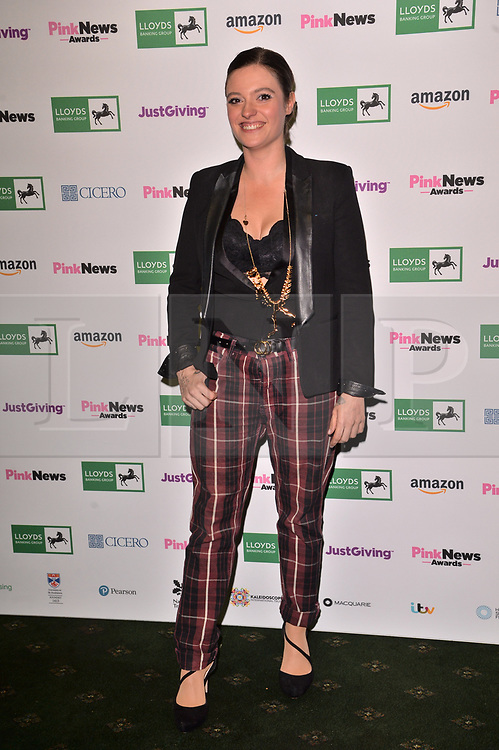 © Licensed to London News Pictures. 17/10/2018. London, UK. Jack Munroe attends the Pink News Awards 2018 held at Church House. Photo credit: Ray Tang/LNP