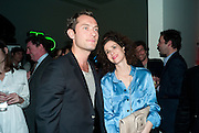 JUDE LAW; MOLLIE DENT-BROCKLEHURST, TODÕS Art Plus Drama Party 2011. Whitechapel GalleryÕs annual fundraising party in partnership. Whitechapel Gallery. London. 24 March 2011.  with TODÕS and supported by HarperÕs Bazaar-DO NOT ARCHIVE-© Copyright Photograph by Dafydd Jones. 248 Clapham Rd. London SW9 0PZ. Tel 0207 820 0771. www.dafjones.com.<br /> JUDE LAW; MOLLIE DENT-BROCKLEHURST, TOD'S Art Plus Drama Party 2011. Whitechapel Gallery's annual fundraising party in partnership. Whitechapel Gallery. London. 24 March 2011.  with TOD'S and supported by Harper's Bazaar-DO NOT ARCHIVE-© Copyright Photograph by Dafydd Jones. 248 Clapham Rd. London SW9 0PZ. Tel 0207 820 0771. www.dafjones.com.