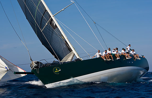 08_022452 © Sander van der Borch. Porto Cervo,  2 September 2008. Maxi Yacht Rolex Cup 2008  (1/ 6 September 2008). Day 2.