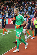 20 Joe Hart for Burnley FC during the Europa League third qualifying round leg 2 of 2 match between Burnley and Istanbul basaksehir at Turf Moor, Burnley, England on 16 August 2018.