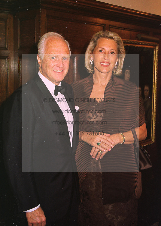 MR & MRS WINSTON CHURCHILL at a reception in London on 14th May 1998.MHM 39