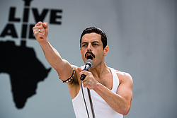 RELEASE DATE: November 2, 2018 TITLE: Bohemian Rhapsody STUDIO: Twentieth Century Fox DIRECTOR: Bryan Singer PLOT: The cast and producer of Bohemian Rhapsody share what it was like bringing the story of Freddie Mercury and Queen to the big screen. STARRING: RAMI MALEK as Freddie Mercury. (Credit Image: © Twentieth Century Fox/Entertainment Pictures/ZUMAPRESS.com)
