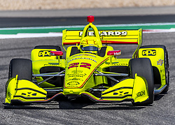March 22, 2019 - Austin, Texas, U.S. - SIMON PAGENAUD (22) of France goes through the turns during practice for the INDYCAR Classic at Circuit Of The Americas in Austin, Texas. (Credit Image: © Walter G Arce Sr Asp Inc/ASP)