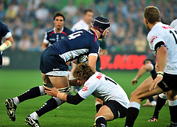 Alister Campbell (Rebels).Melbourne Rebels v The Sharks.Rugby Union - 2011 Super Rugby.AAMI Park, Melbourne VIC Australia.Friday, 11 March 2011.© Sport the library / Jeff Crow
