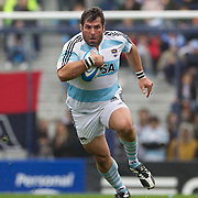 Martin Scelzo, Argentina, in action during the Argentina V France test match at Estadio Jose Amalfitani, Buenos Aires,  Argentina. 26th June 2010. Photo Tim Clayton...
