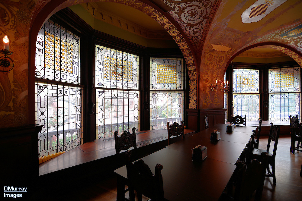 Dining Room, Flagler College, Once the Hotel Ponce de León