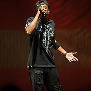 WASHINGTON, DC - November 3rd, 2011 - Jay-Z performs at the Verizon Center in Washington D.C. as part of the Watch The Throne tour with Kanye West.  (Photo by Kyle Gustafson/For The Washington Post)