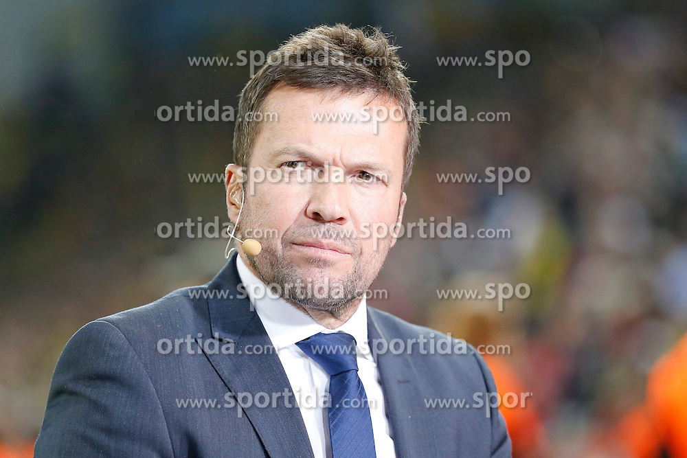 26.04.2014, BayArena, Leverkusen, GER, 1. FBL, Bayer 04 Leverkusen vs Borussia Dortmund, 32. Runde, im Bild Lothar Matthaeus // during the German Bundesliga 32th round match between Bayer 04 Leverkusen and Borussia Dortmund at the BayArena in Leverkusen, Germany on 2014/04/26. EXPA Pictures &copy; 2014, PhotoCredit: EXPA/ Eibner-Pressefoto/ Schueler<br /> <br /> *****ATTENTION - OUT of GER*****