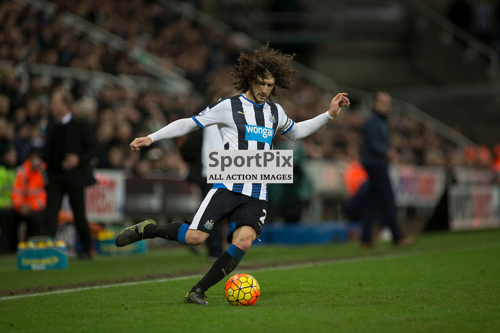 Fabricio Coloccini in the Newcastle v Everton 26 December 2015<br />