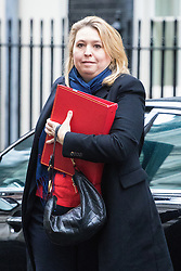 Downing Street, London, December 13th 2016. Secretary of State for Culture, Media and Sport Karen Bradley arrives at the weekly meeting of the cabinet at Downing Street, London.